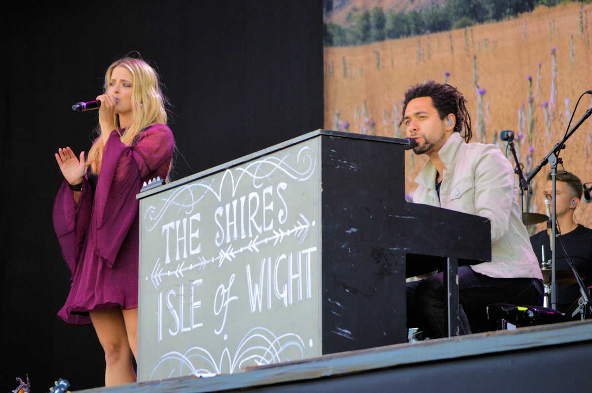 The Shires at Isle of Wight Festival