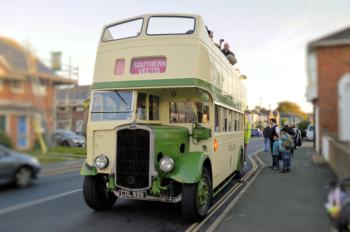 Vintage Bus - Beer & Buses - Sandown Isle of Wight